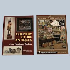 Schiffer Publishing Great Country Store Antiques Paperback Book Set Of Two
