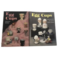 Brenda Blake Egg Cup Hardcover History And Price Guide Set With Paperback Supplement