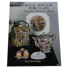 Eileen Busby Royal Winton Porcelain Ceramics Fit For A King Reference and Price Guide