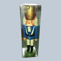 German Steinbach Miniature Christmas Nutcracker Soldier Complete In Box