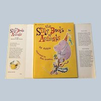 Vintage 1973 Large Golden Book The Silly Book Of Animals