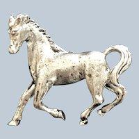 Vintage Metal Figural Horse Pin