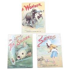 Vintage Thomson & Taylor Spice Company  T & T Coffee Advertising Children Art Nouveau Premium Booklets