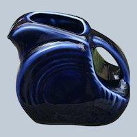 Vintage Fiesta Miniature Cobalt Blue Pitcher