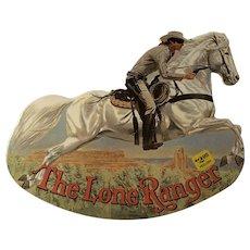 1981 The Lone Ranger Die Cut Rocking Books Tom Beecham Illustrator