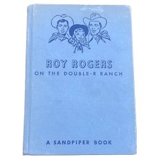 1951 Hardcover Roy Rogers O The Double-R Ranch A Sandpiper Book