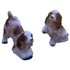 Vintage Relco Japan Irish Setter Salt and Pepper Shakers
