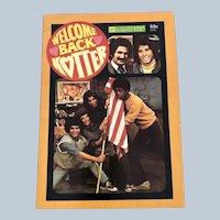 1977 Welcome back Kotter Golden Press Illustrated Story Book