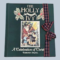 1991 The Holly And The Ivy A Celebration Of Christmas Book