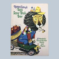 1968 Large Golden Book Richard Scarry's Best Story Book Ever