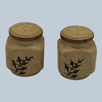 Vintage Mid Century Style Treasure Craft Pottery Salt and Pepper Shakers