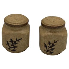Vintage Mid Century Style Treasure Craft Pottery Salt and Pepper Shakers