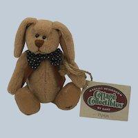 1995 NOS  Pipkin Cottage Collectibles Plush Rabbit Artist Signed