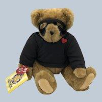 Vintage 1990's Vermont Teddy Bear Love Bandit