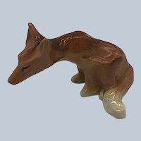 1950's Ceramic Arts Studio Fox Shaker