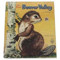 Vintage 1964 Whitman Tell A Tale Walt Disney's Beaver Valley Children Book First Edition