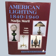 Hardcover Schiffer Books 1995 America Lighting 1840-1940 Reference and Price Guide