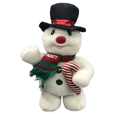 Vintage Play By Play 1992 Plush Frosty The Snowman NWT