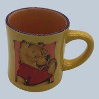 Vintage 1990's Disney Winnie The Pooh Ceramic Mug