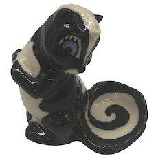 1950's Ceramic Art Studio Pottery Skunk Shaker