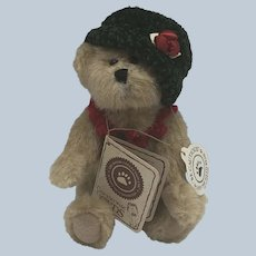 Retired Vintage Plush Ivy Boyd Bear Complete With Tags