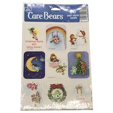 Vintage 1983 Cabbage Patch Christmas Seals/Stickers NOS