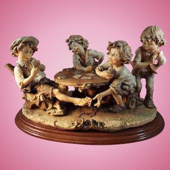 Armani Figurine The Cheats, Cheaters, Gulliver's World