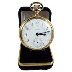 Waltham 18kt Gold Pocket Watch circa:1901  Excellent Condition