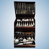 Lafayette by Towle Sterling Silver Flatware 132 pieces Service for 12 plus Servers