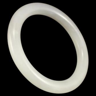 Chinese Natural Hetian Jade Bracelet