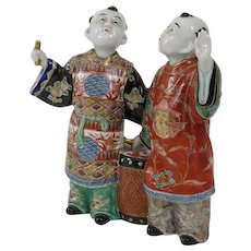 Antique Japanese Porcelain Figures, Circa 1880