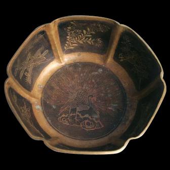 Rare Chinese Qing Bronze Bowl
