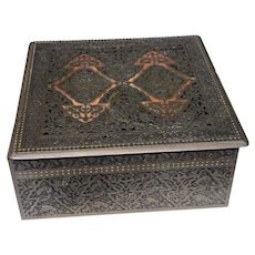 German Erhard & Söhne Copper Alloy Casket in Islamic Taste