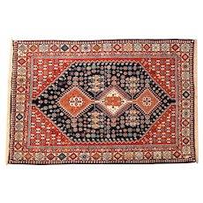 Middle East Contemporary Nomadic Dense Wool Pile Rug