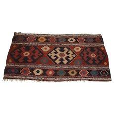 Antique Nomadic Shahsavan Mafrash Textile Panel