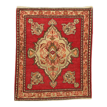 Very Old Middle East Anatolian Wool Rug