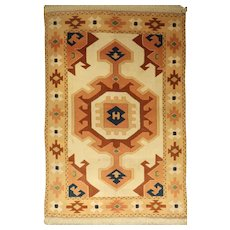 Anatolian Turkish Unique Design Melas Rug