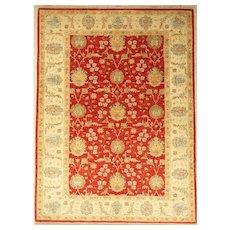 """Ziegler Chobi """"Peshawar Carpet"""" Design Large Wool Rug"""
