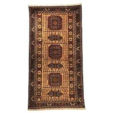 Afghan Baluch Zakini Tribal Vintage Quality Wool Rug