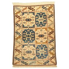 Turkish Anatolian Kars Wool on Wool Rug