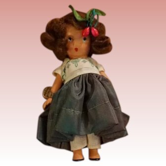 Nancy Ann Storybook Doll, No. 129: Annie at the Garden Gate