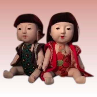 Japanese Baby Doll Pair