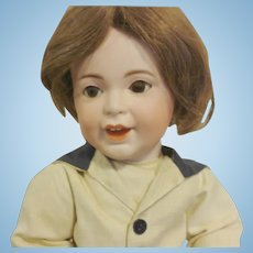 "16"" Antique French Doll Bisque Laughing Jumeau S.F.B.J. 236 Paris head size 8"