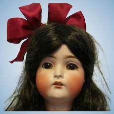 """Beautiful 26"""" Antique German Doll Bruno Schmidt BSW Made in Germany 1910 size head 13 perfect condition"""
