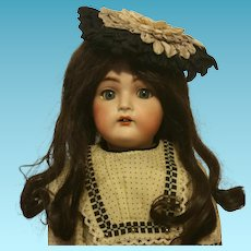 "Amazing 21"" Kammer & Reinhardt K*R Germany mold number 403 ( Walking and Talking ) Antique German Bisque doll Simon & Halbig 1910"