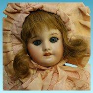 "SFBJ 15,75"" Antique Beautiful Doll 22 S.F.B.J PARIS 60 3/0 Original French Jumeau body"