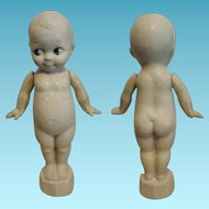 "Great American Kewpie vintage 1900 in composition doll 15"" tall"