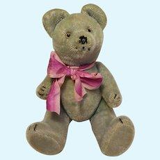 Vintage bear peluche plush toy 9,85 inch