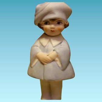 Vintage Bisque Doll Nodder