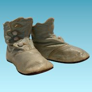 Original French leather shoes boots celestial light 4,33 inch ( 11 cm )